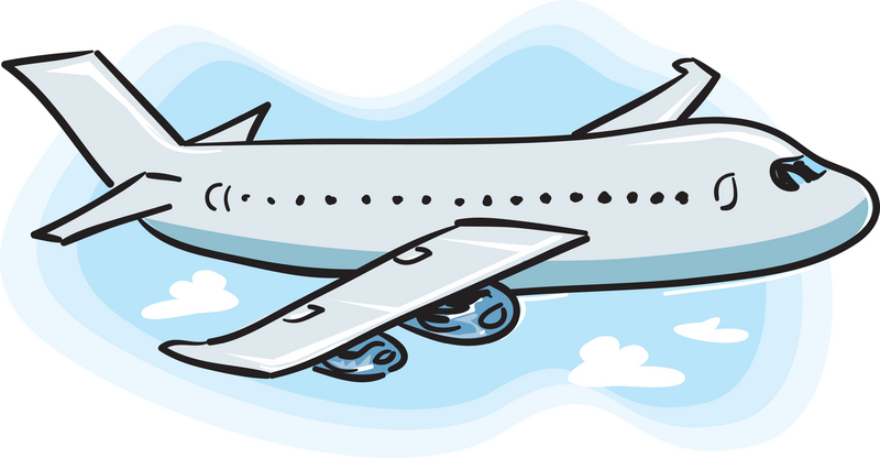 Cartoon Airplane Clip Art