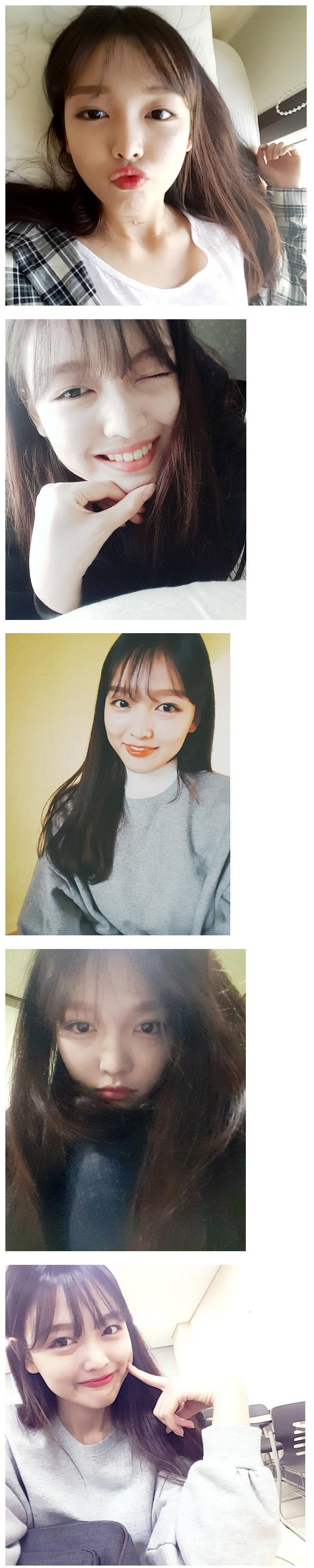 김유정 친언니 셀카 사진.jpg